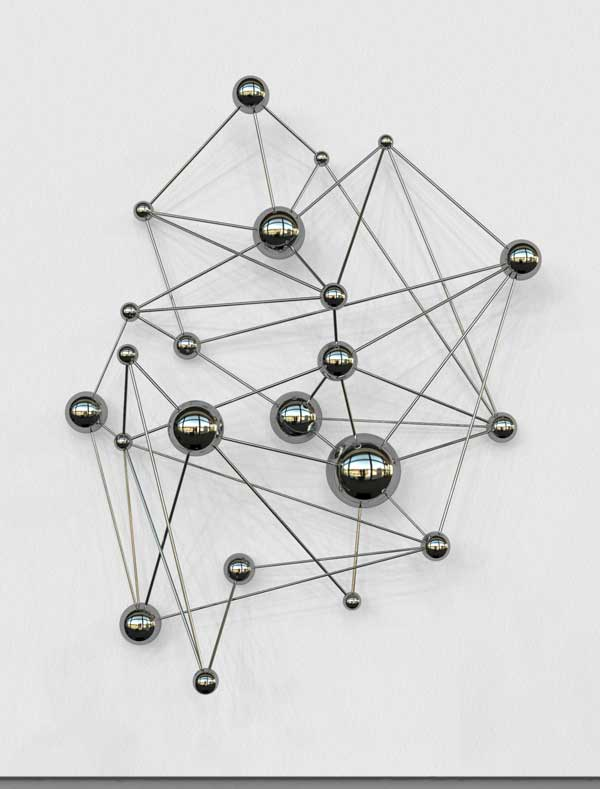 network sculpture GA5 2013